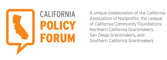 CALIFORNIA POLICY FORUM WEBINAR: DROUGHT, WATER, AND THE ECONOMY: WHAT WE ALL NEED TO KNOW