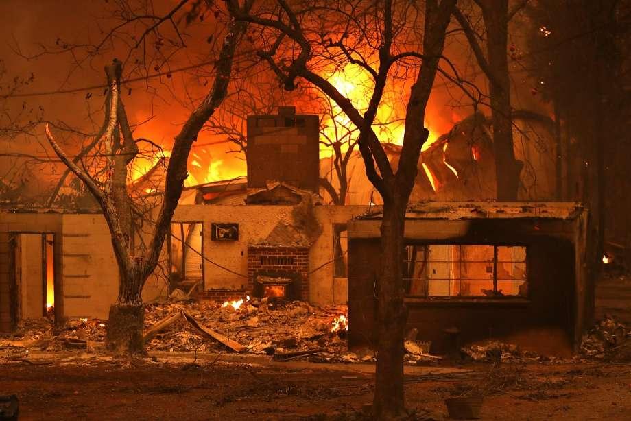 Camp Fire Devastation / Scott Strazzante / The Chronicle